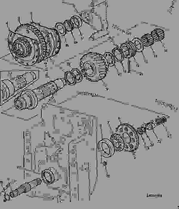 lx007991_______un01jan94 rear pto 540 1000 rpm (reversible) tractor john deere 6400