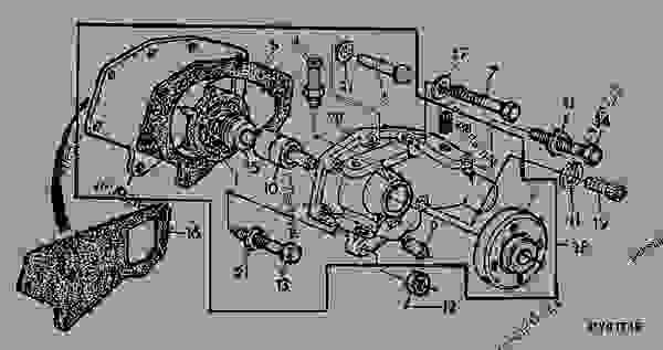 fuel filter part number for john deere 5045e