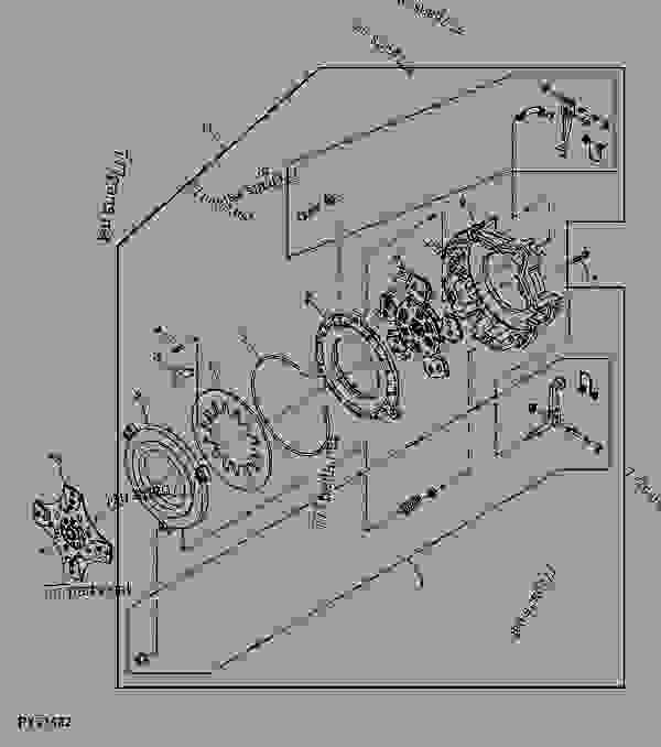 John Deere Wiring diagrams 5103 on