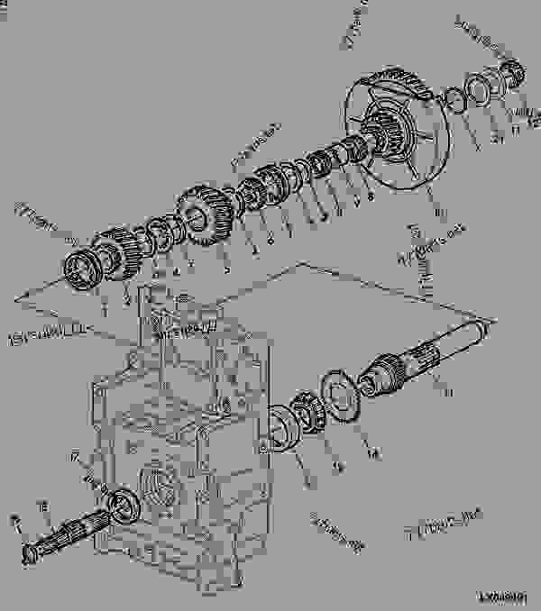 1000 to 540 Pto Converter