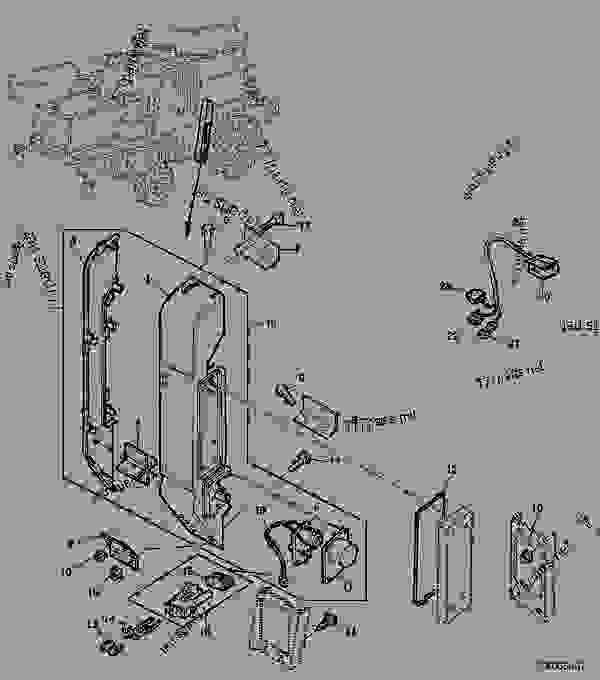 moisture sensor - combine john deere 9780i cts - combine