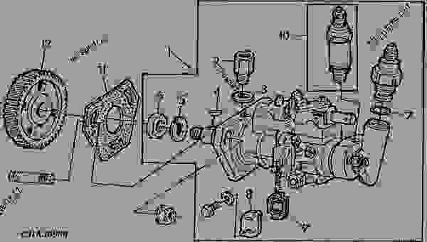Delphi Injection Pump Spare Parts