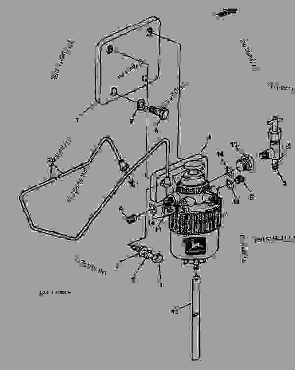 fuel filter    filter head