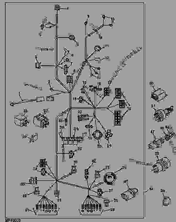 wiring harness  main  european    - xxxxxx