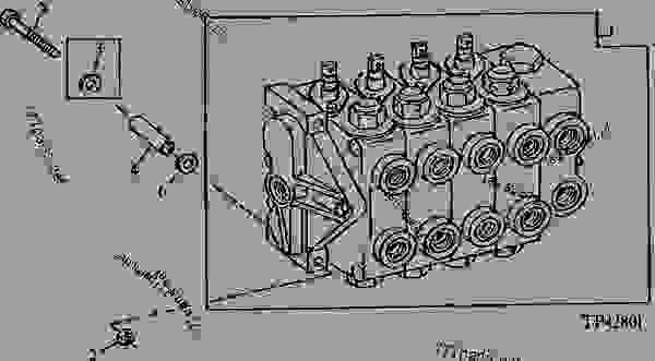 backhoe control valve  gresen    - 802199