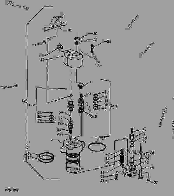 rockshaft control valve (mita harig) tractor john deere 5103