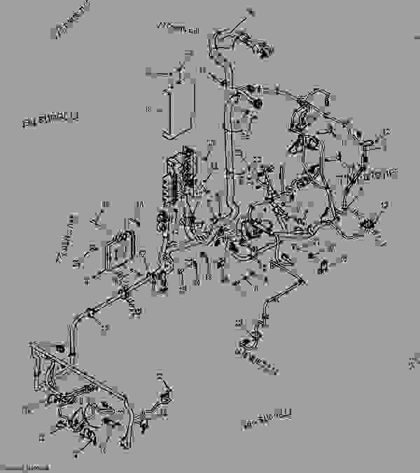 Main Wiring Harness  Manual Controls