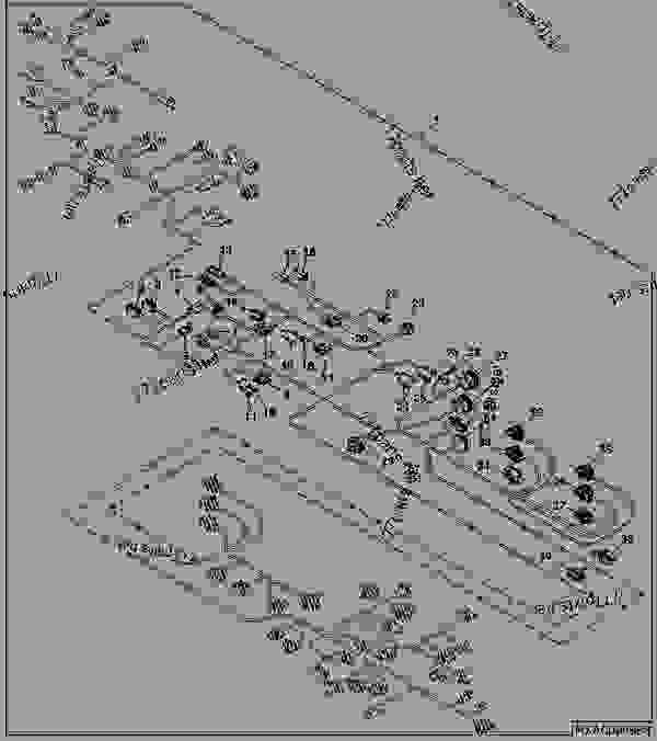 John Deere 120 Wiring Harnes