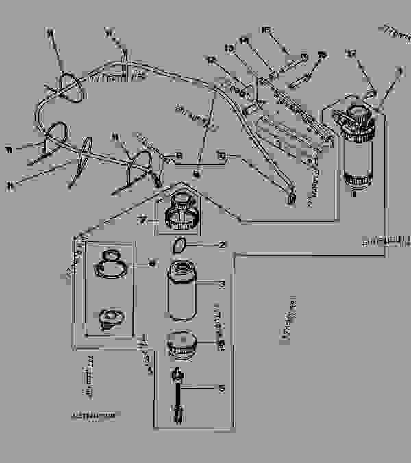 8165  primary fuel filter  - engine  powertech plus john deere 6068 - engine  powertech plus