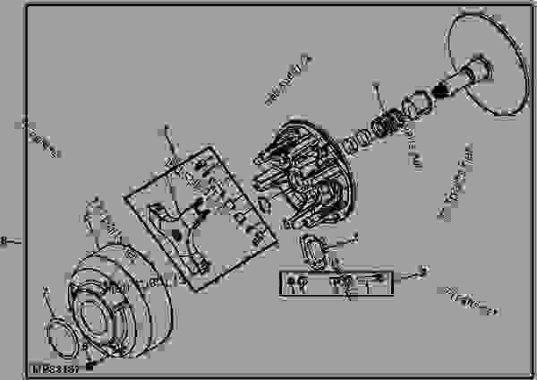john deere hpx gator parts diagram  john deere  wiring