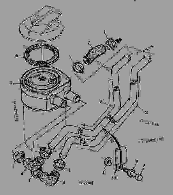 5921 oil filter - engine  powertech john deere 3029 - engine  powertech