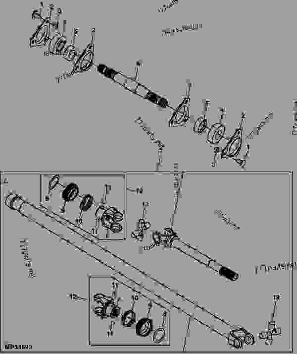 John Deere F935 Pto Parts Diagram - Wiring Diagram on