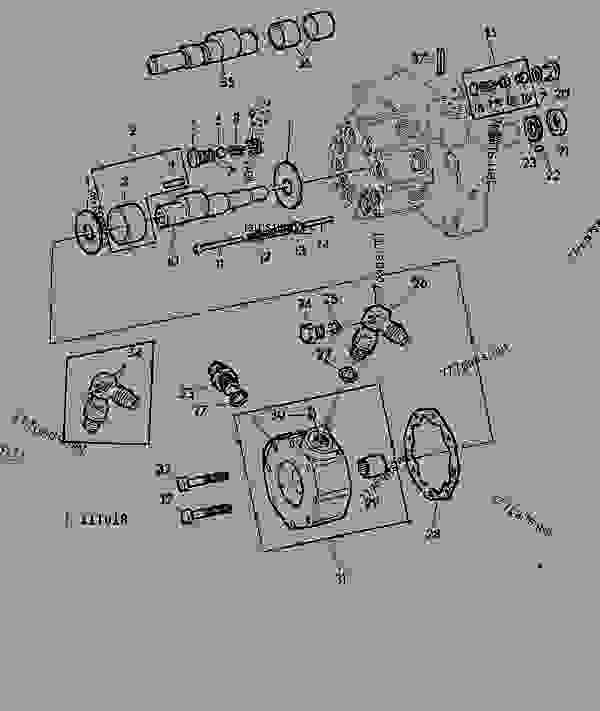 John Deere 1020 Hydraulic Diagram