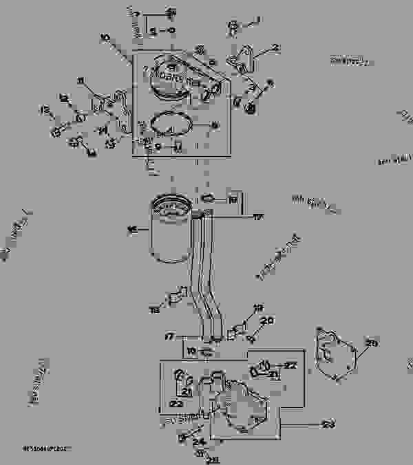 8878 oil filter - tractor john deere 5425 - tractor