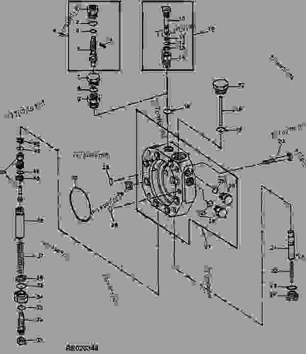 Re Un Sep on John Deere 4020 Hydraulic Pump Diagram