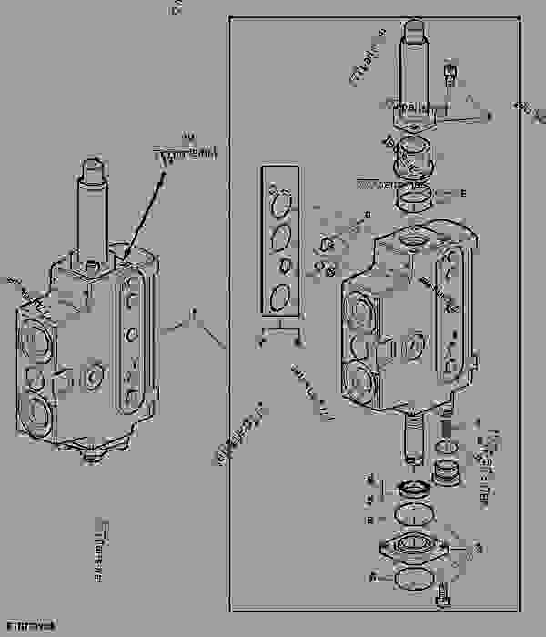 mechanically operated control valve  m