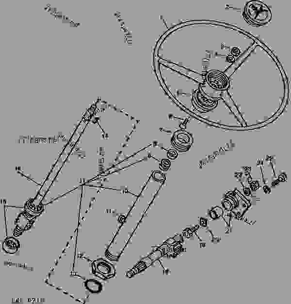 31 John Deere 850 Tractor Parts Diagram