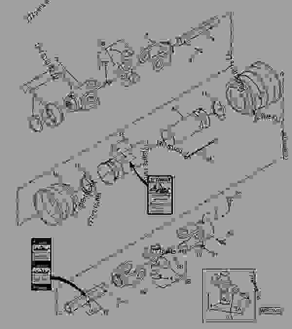 John deere hx15 Parts manual