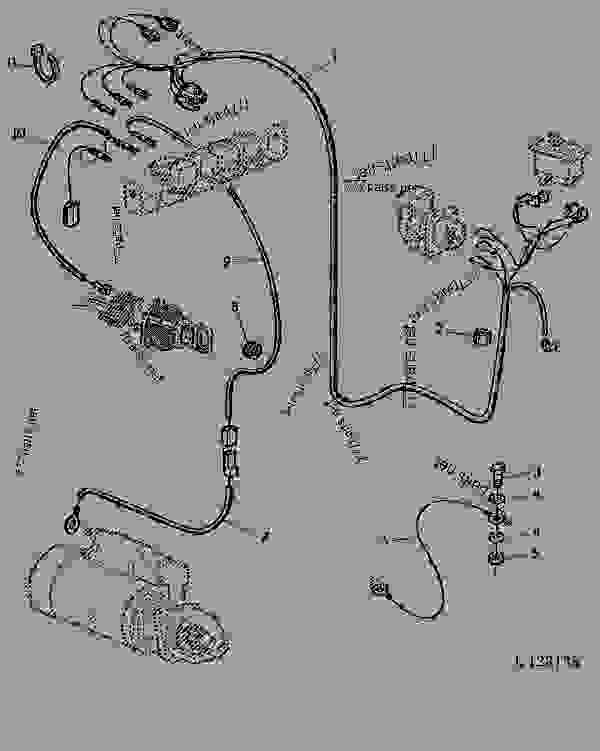 l123138________un08jun95 John Deere Wiring Diagram on john deere 6400 wiring diagram, john deere 6320 wiring diagram, john deere 6420 wiring diagram, john deere 2130 wiring diagram, john deere 6200 wiring diagram,