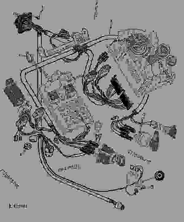 Wiring Harnesses-dash Sg2 Cab  02c14