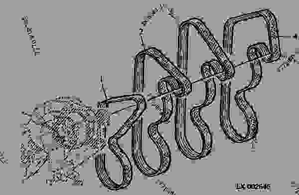 6300 john deere tractor diagram