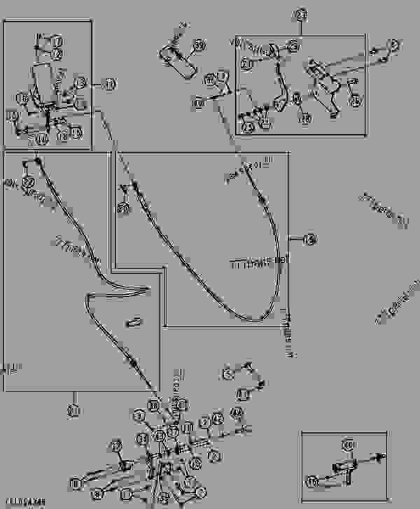 FOOT THROTTLE (ELECTROHYDRAULIC) - LOADER, SKID-STEER John