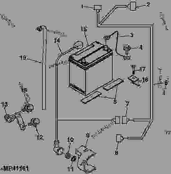 John Deere Tractor Ignition Switch Wiring Diagram on