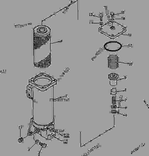Komatsu D65e 8 Dozer Manual on