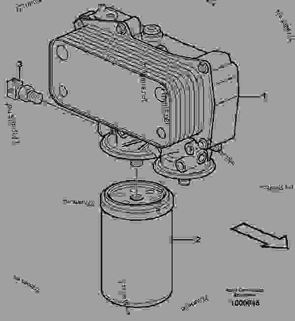 oil filter - compact wheel loaders  backhoe loaders  skid steer loaders volvo bl70