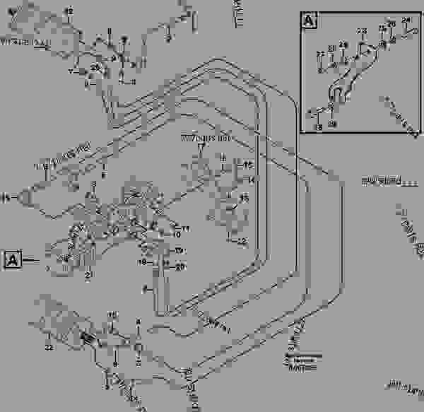 Skid Steer Hydraulic Schematic