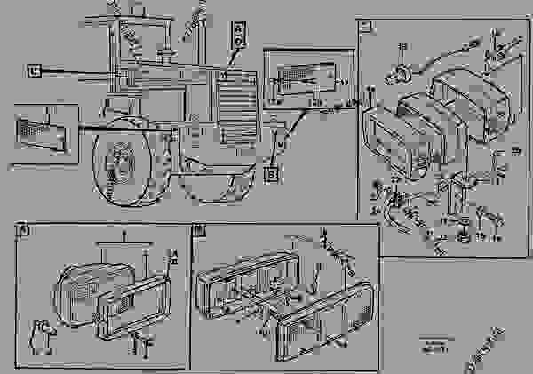 Lighting, rear - Wheel Loaders Volvo L70C - Electrical ... on volvo loader 70, volvo loader bucket snow, volvo l70 review 2012, volvo l70 service manual, volvo semi, volvo l60 loader specs, case 621 wheel loader, volvo l70 lifting capacity, volvo l70g windshield guard, john deere wheel loader, volvo loader forks,